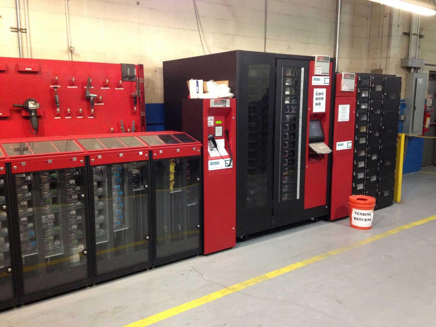Airgas tool crib at Metal Working Group Cincinnati