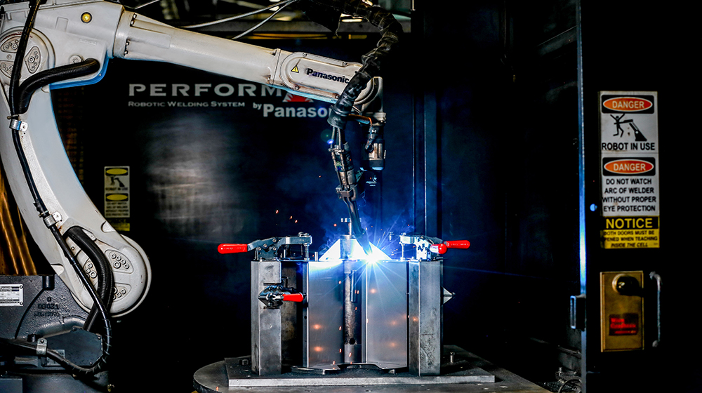 production welding by metalwoking group